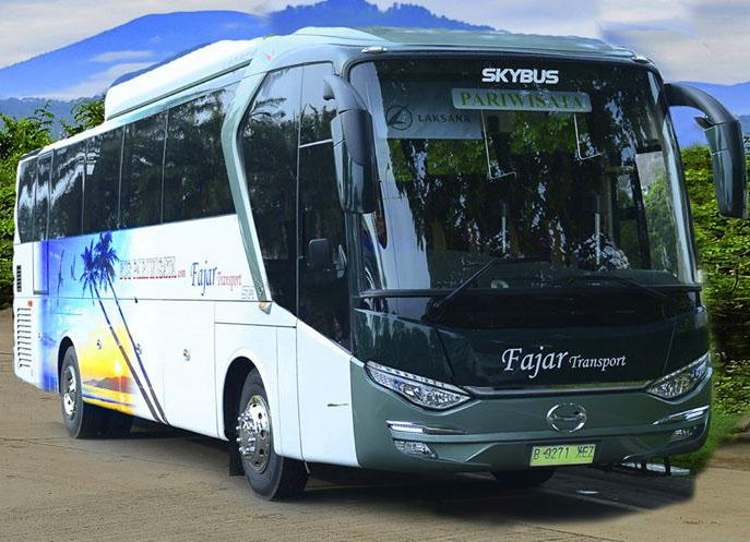 bus pariwisata fajar transport besar